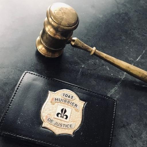 badge huissier de justice
